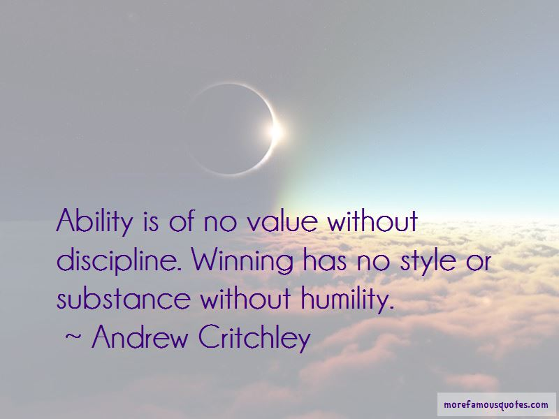 Andrew Critchley Quotes Pictures 2
