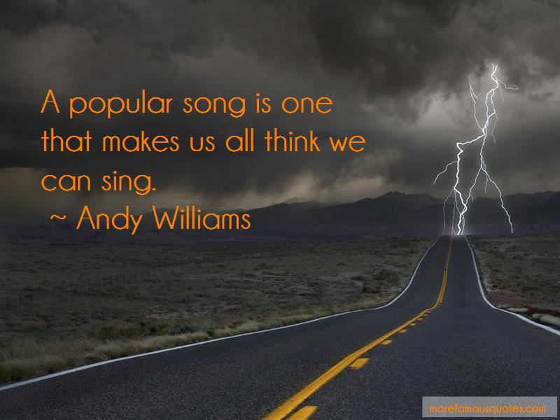 Andy Williams Quotes Pictures 3