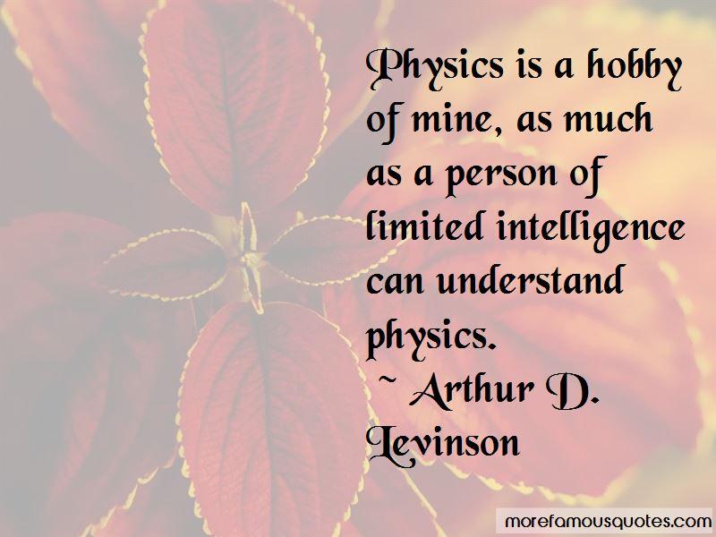 Arthur D. Levinson Quotes