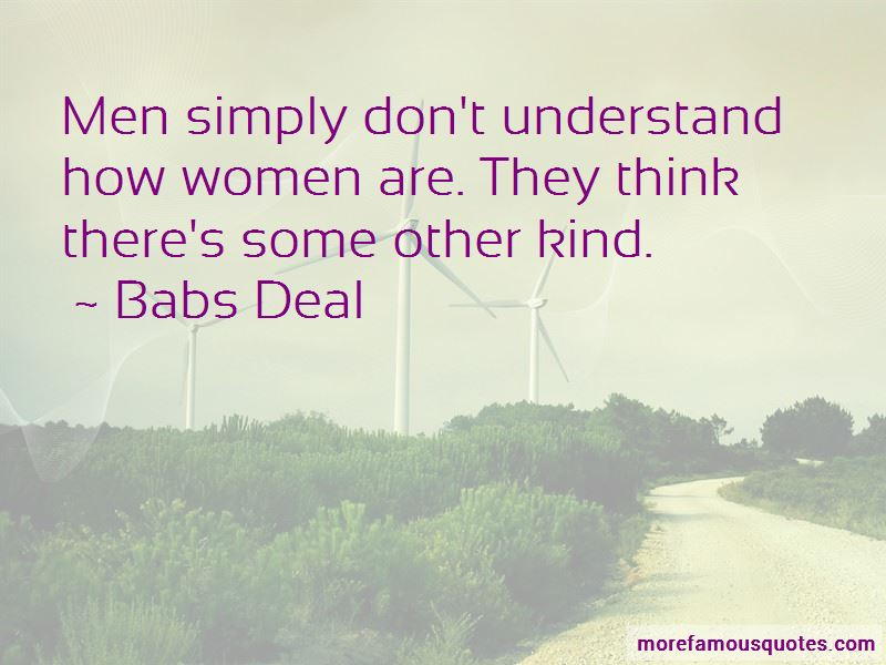 Babs Deal Quotes Pictures 3