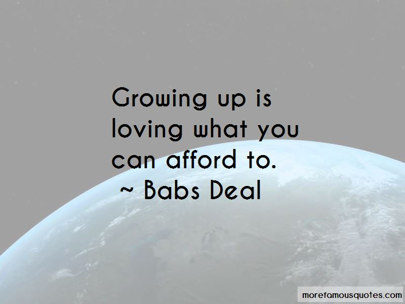 Babs Deal Quotes Pictures 4