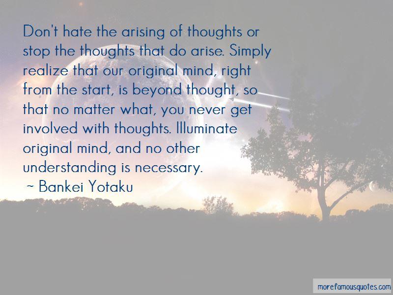 Bankei Yotaku Quotes