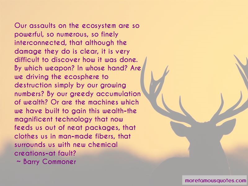 Barry Commoner Quotes Pictures 4