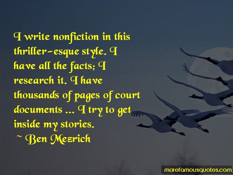 Ben Mezrich Quotes Pictures 2