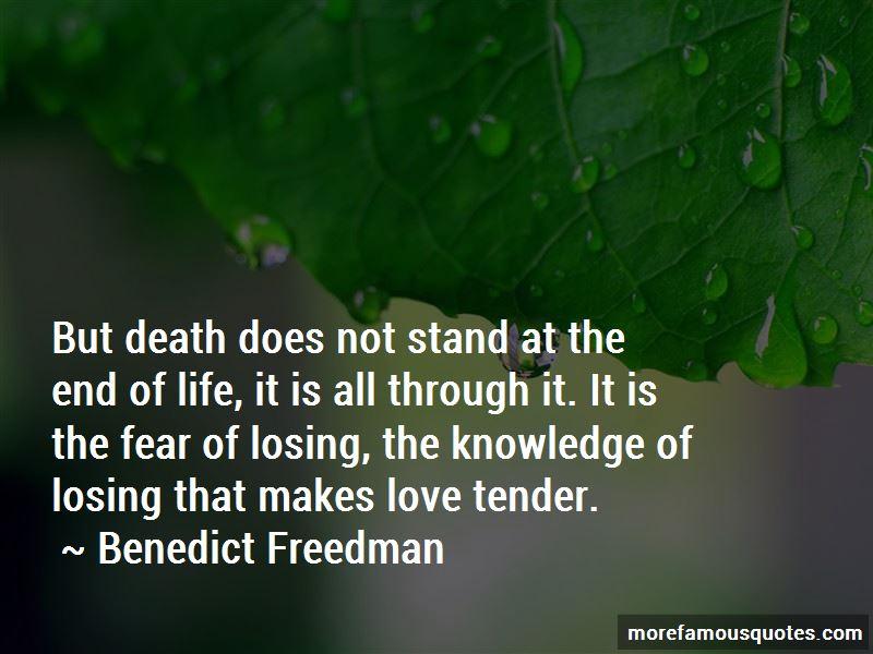 Benedict Freedman Quotes Pictures 2