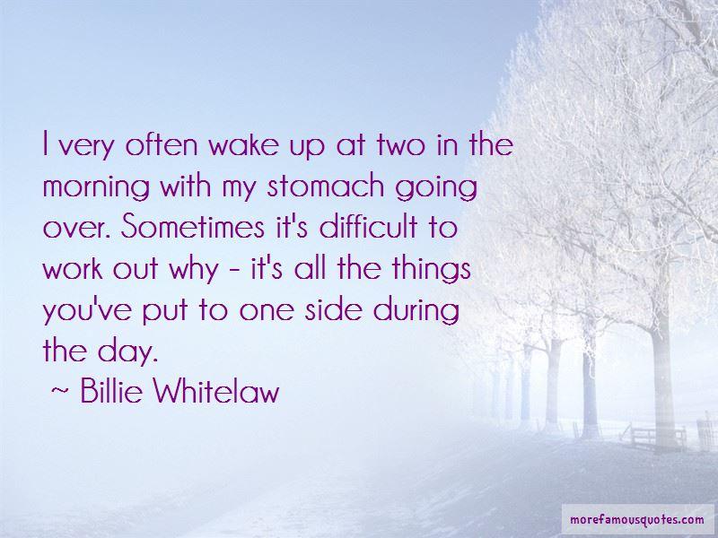 Billie Whitelaw Quotes