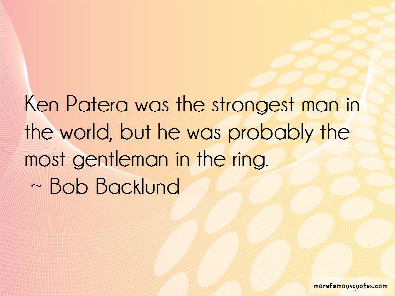 Bob Backlund Quotes