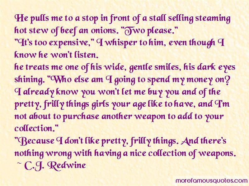 C.J. Redwine Quotes Pictures 3