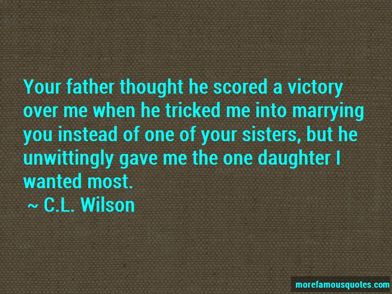 C.L. Wilson Quotes Pictures 2