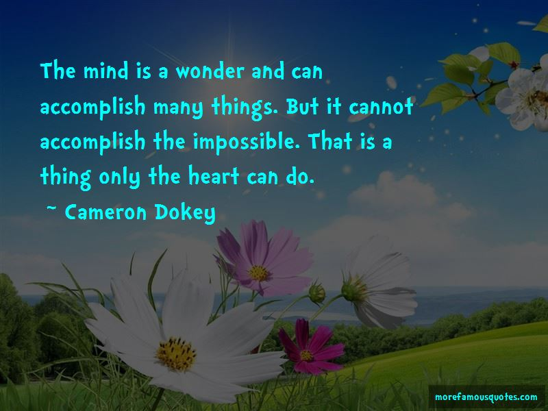 Cameron Dokey Quotes Pictures 3