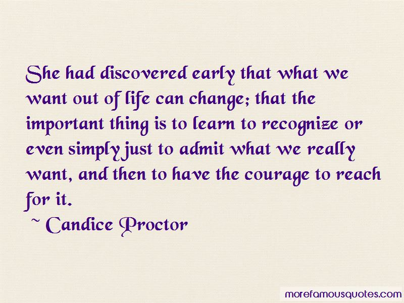 Candice Proctor Quotes Pictures 4