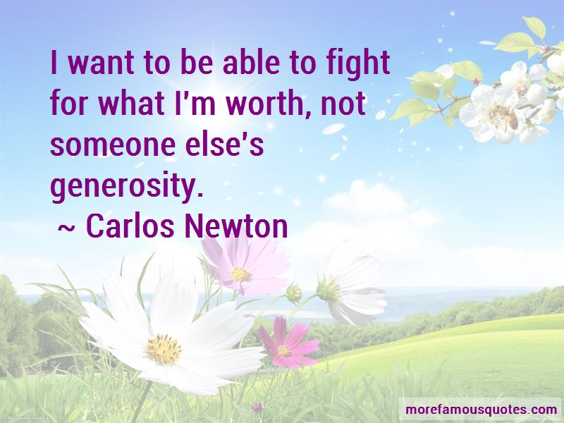 Carlos Newton Quotes Pictures 2