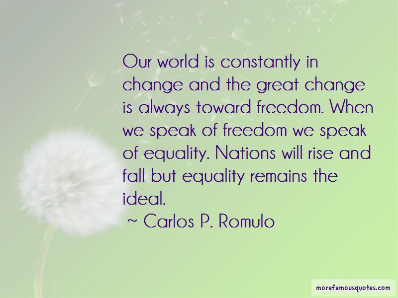Carlos P. Romulo Quotes