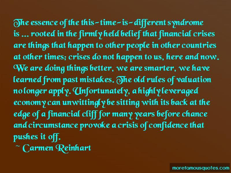 Carmen Reinhart Quotes Pictures 2