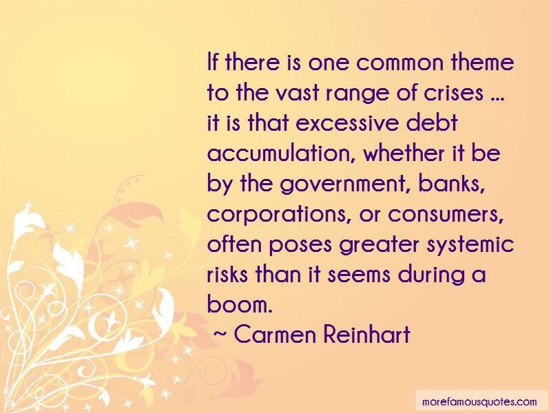 Carmen Reinhart Quotes Pictures 3