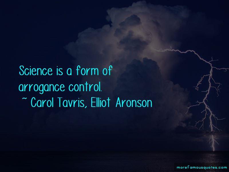 Carol Tavris, Elliot Aronson Quotes