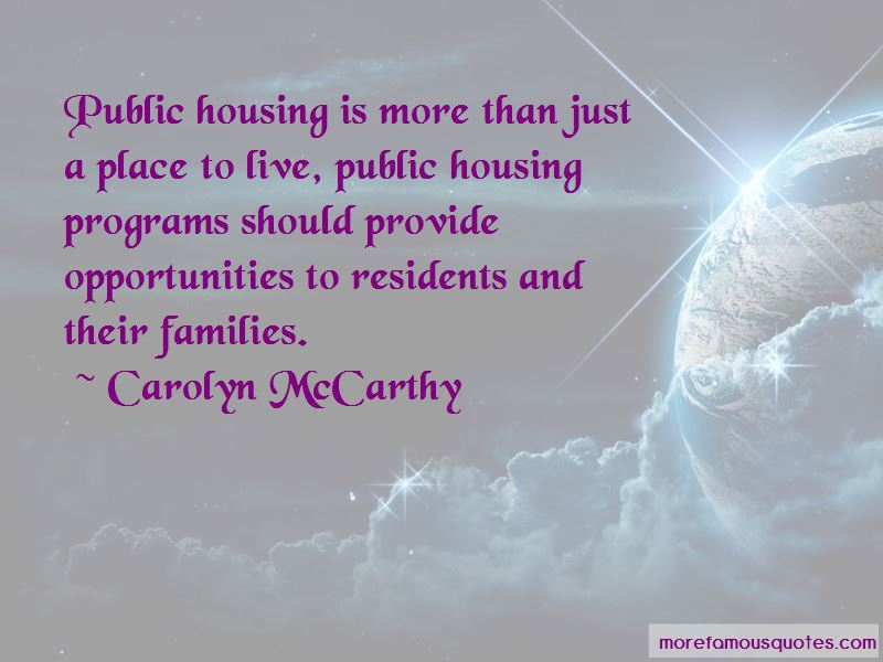 Carolyn McCarthy Quotes Pictures 3