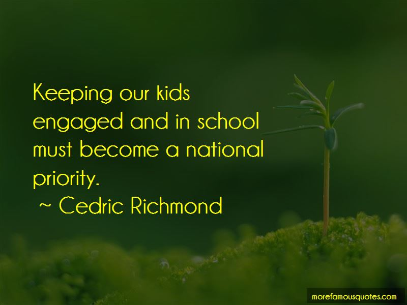 Cedric Richmond Quotes
