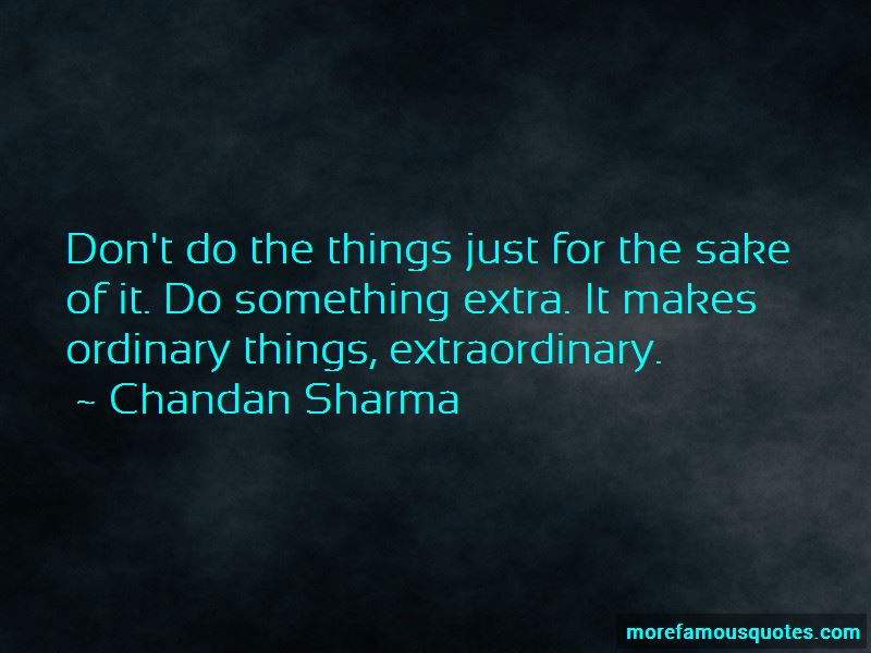 Chandan Sharma Quotes