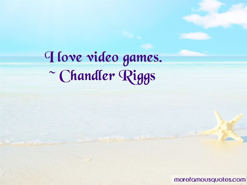 Chandler Riggs Quotes Pictures 4