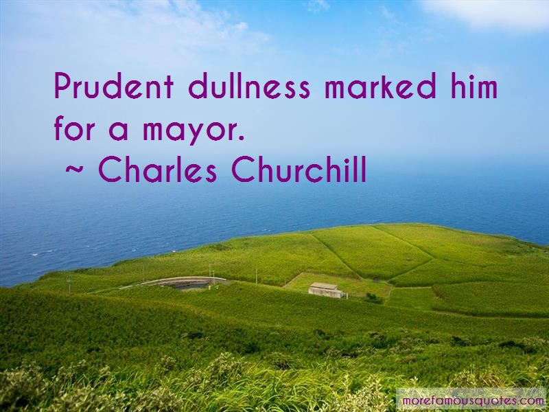 Charles Churchill Quotes Pictures 2