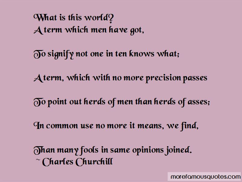 Charles Churchill Quotes Pictures 3