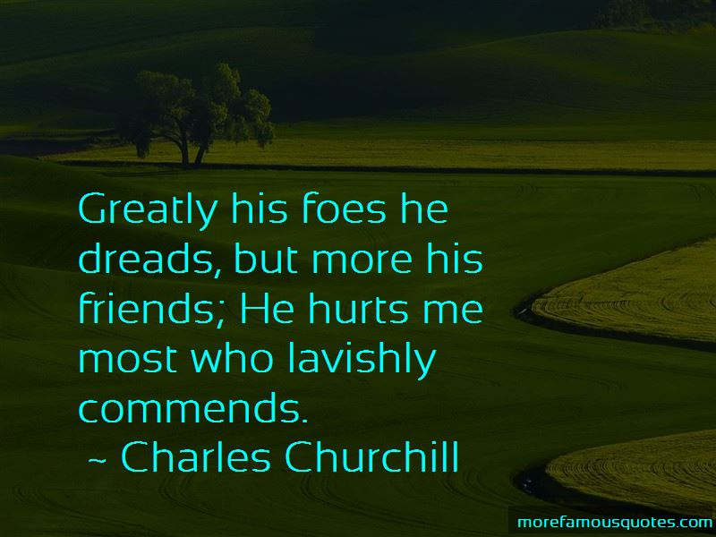 Charles Churchill Quotes