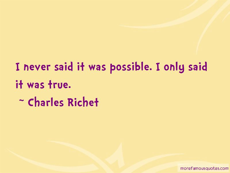 Charles Richet Quotes Pictures 2