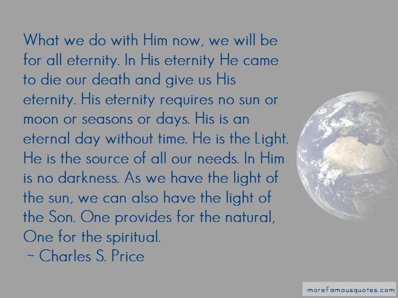 Charles S. Price Quotes