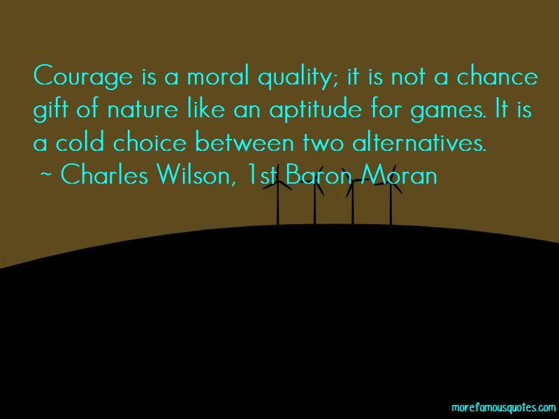 Charles Wilson, 1st Baron Moran Quotes