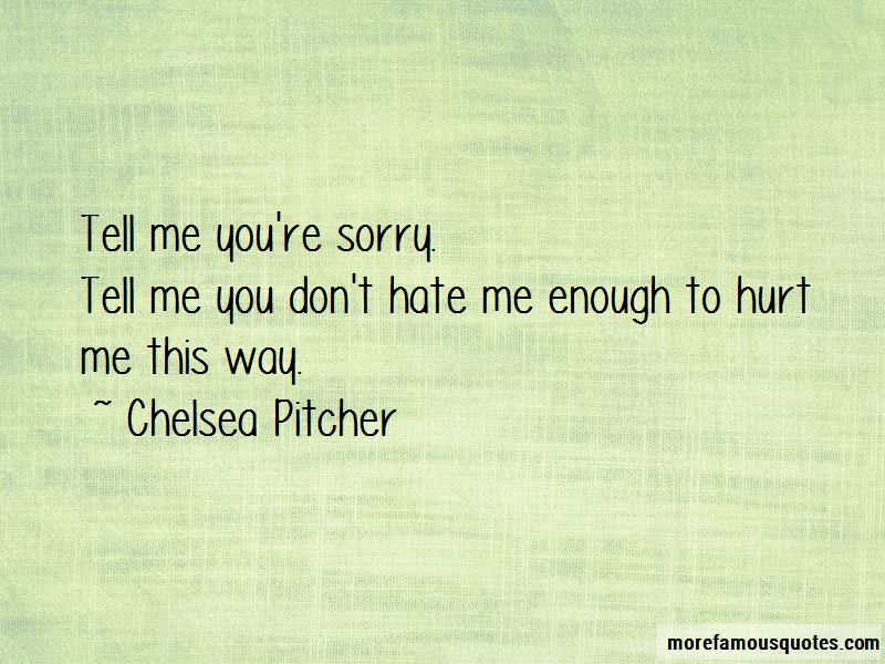 Chelsea Pitcher Quotes Pictures 4
