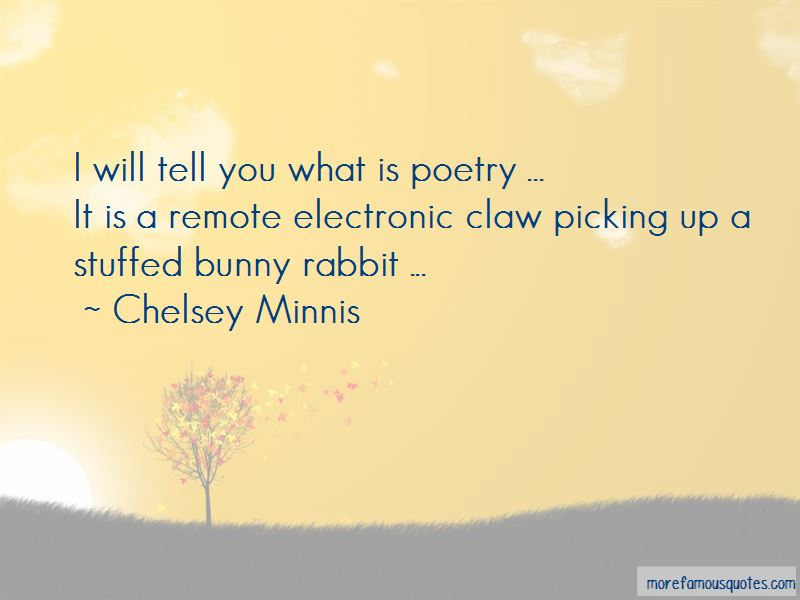 Chelsey Minnis Quotes Pictures 4