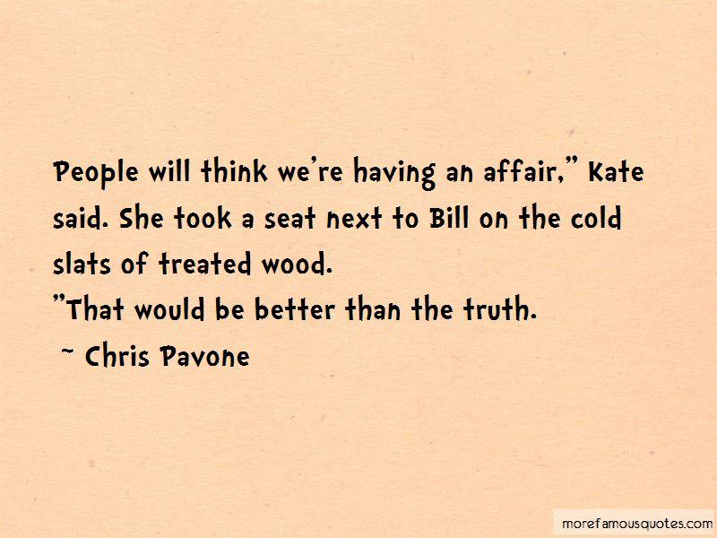 Chris Pavone Quotes