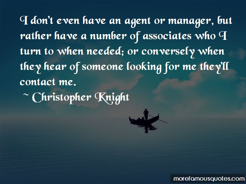 Christopher Knight Quotes Pictures 2