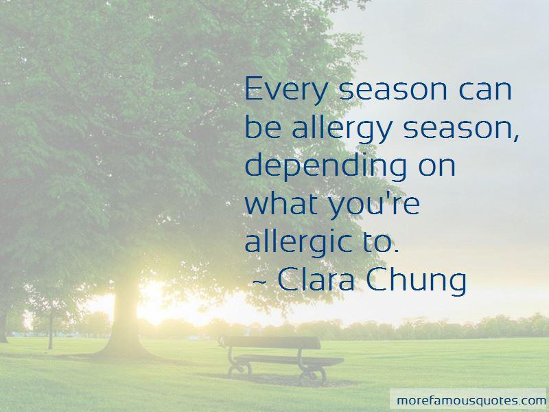 Clara Chung Quotes