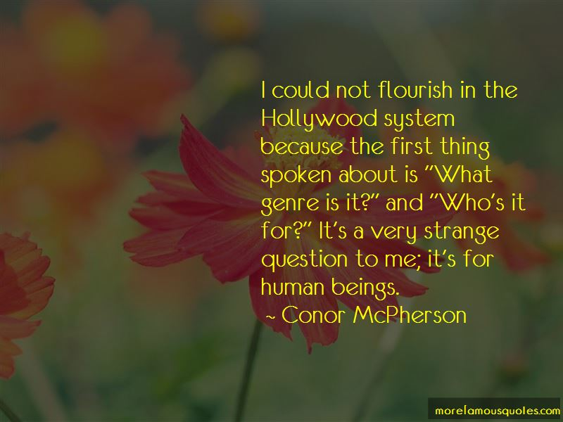 Conor McPherson Quotes Pictures 2