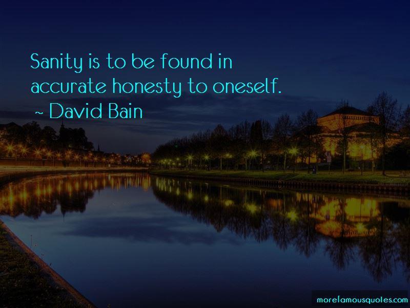 David Bain Quotes
