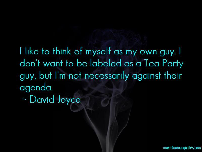 David Joyce Quotes