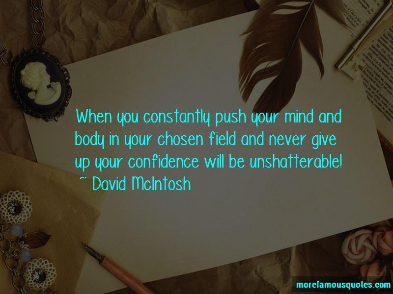 David McIntosh Quotes