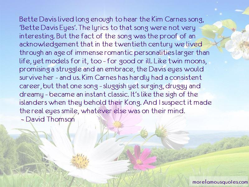 David Thomson Quotes