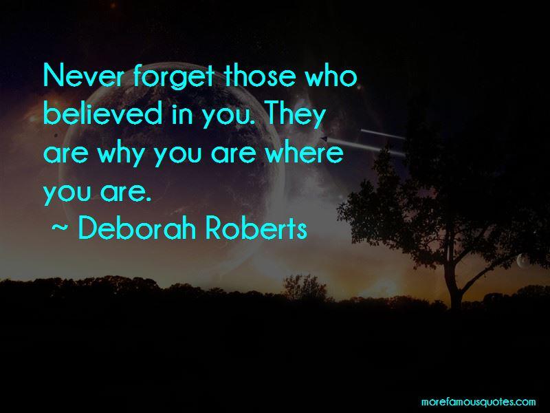 Deborah Roberts Quotes