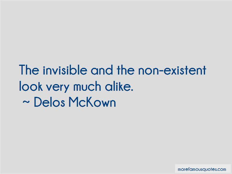 Delos McKown Quotes