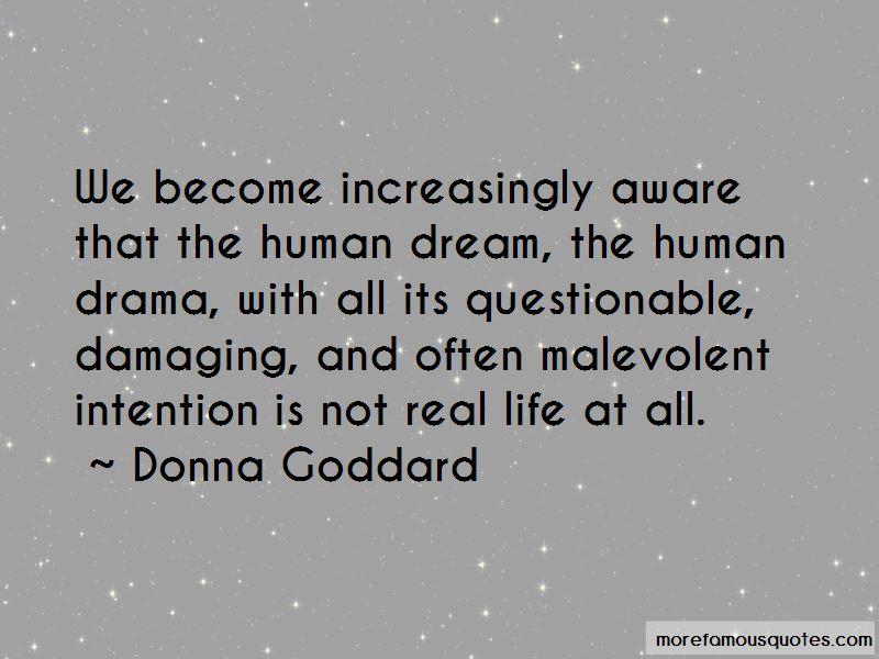 Donna Goddard Quotes