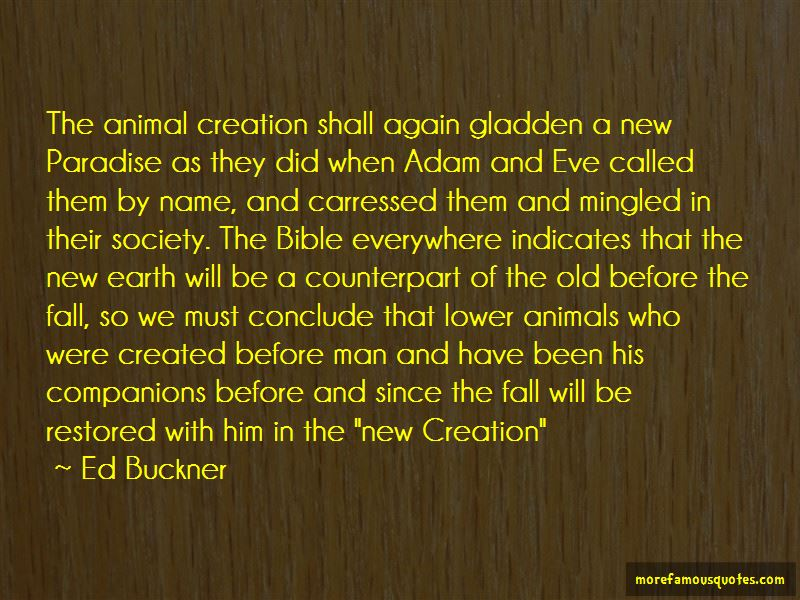 Ed Buckner Quotes Pictures 3