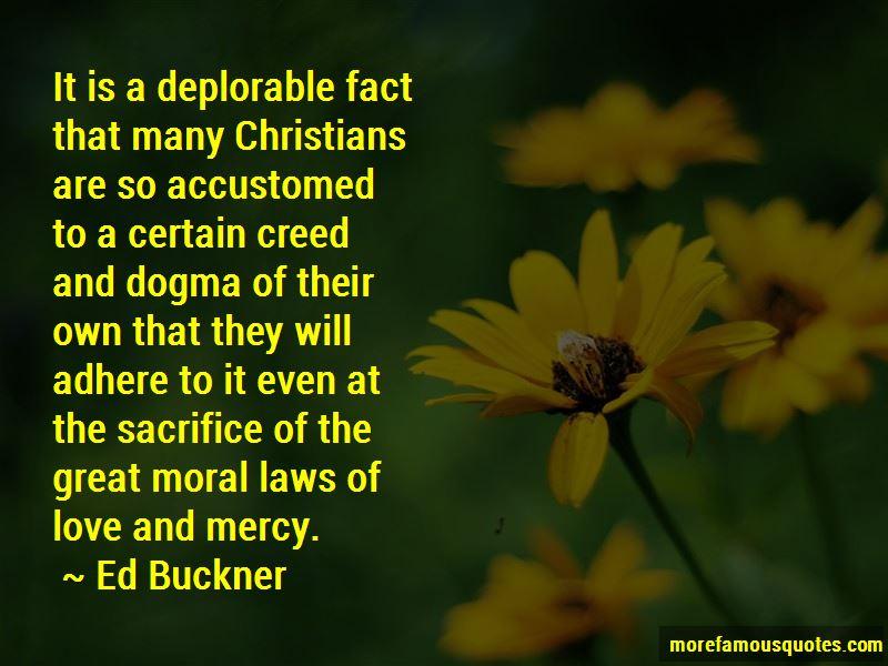Ed Buckner Quotes
