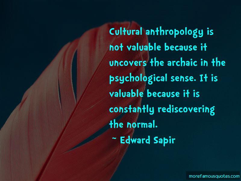 Edward Sapir Quotes Pictures 4