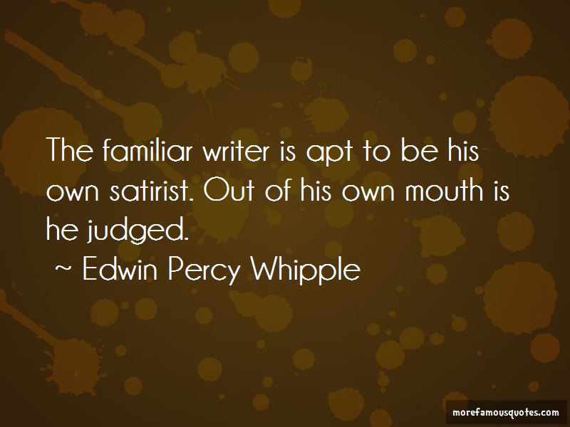 Edwin Percy Whipple Quotes Pictures 2