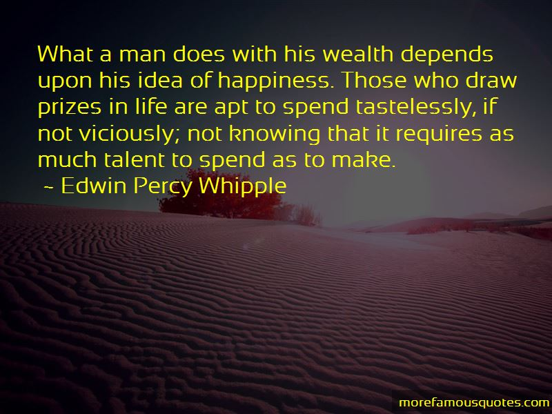 Edwin Percy Whipple Quotes