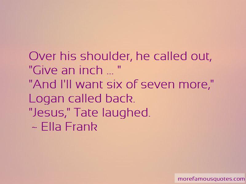 Ella Frank Quotes Pictures 2