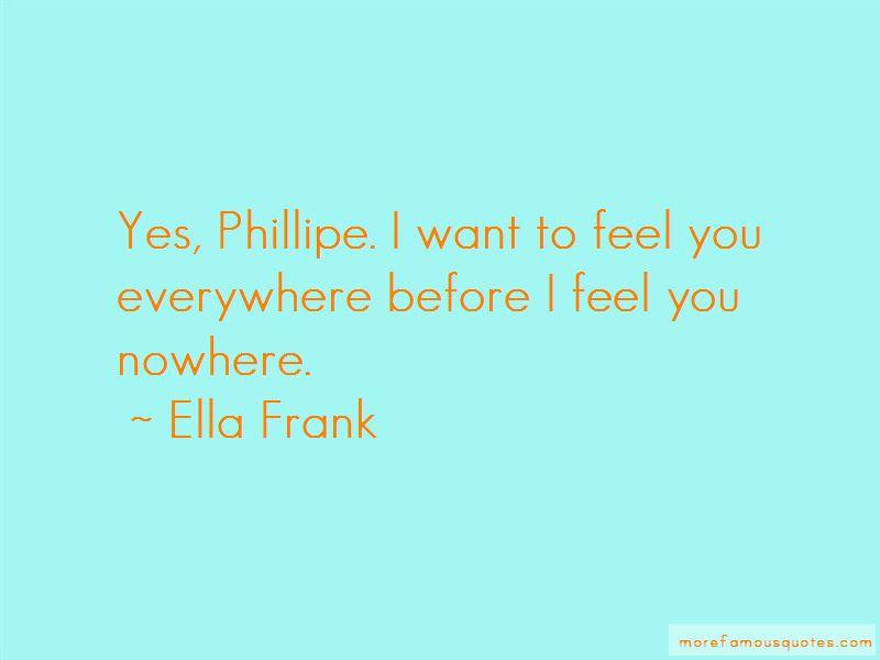 Ella Frank Quotes Pictures 3